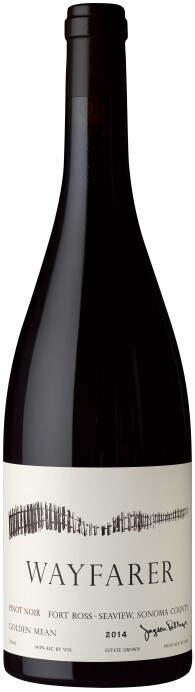 2014 Wayfarer Pinot Noir Golden Mean 97pts!