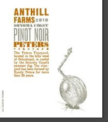 2013 Anthill Farms Peters Vineyard Pinot Noir