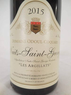 2014 Odoul-Coquard Nuits Saint Georges